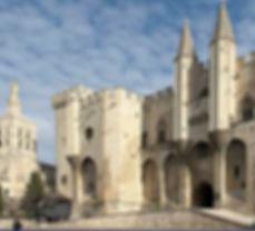 Popes Palace i Avignon