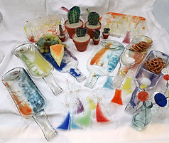 Fusing WeStLi Kunst mit Glas