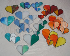 Tiffany Herzen WeStLi Kunst mit Glas
