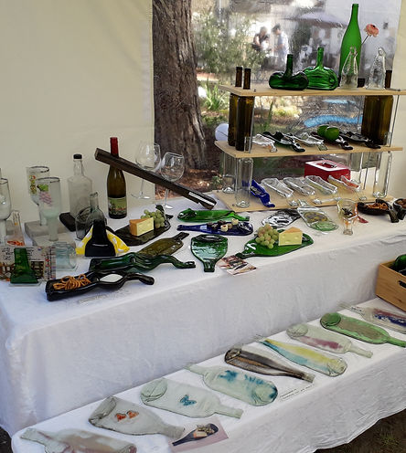 Auswahl meiner Produkte WeStLi Kunst mit Glas