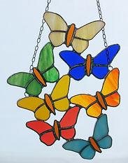 Tiffanyarbeit WeStLi Kunst mit Glas