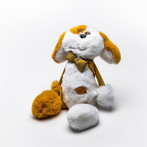 Собака Печенька (оранжевая)