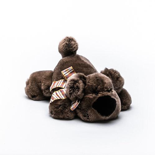 Собака Шанель большая (коричневая)