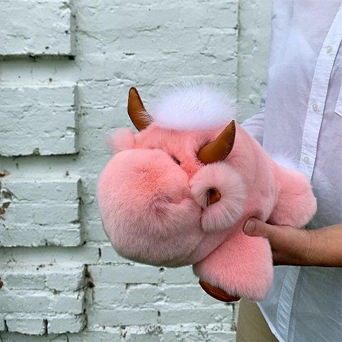 Бычок Гаврюша (розовый)