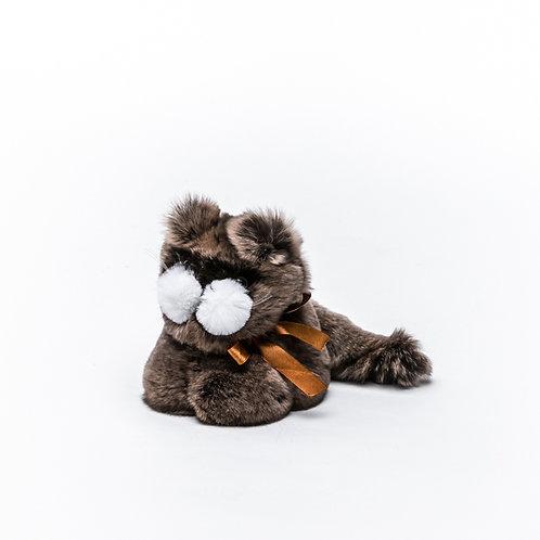 Котёнок Шустрик маленький (коричневый)