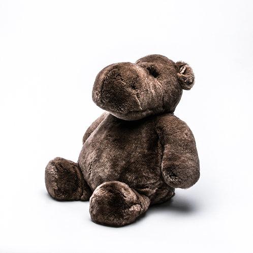 Бегемот Гиппо гигантский (коричневый)