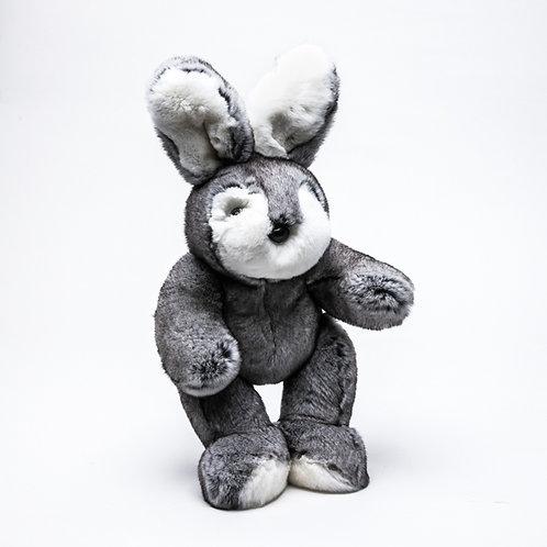 Заяц Ретро (серый)