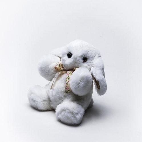 Зайчонок Арнольд (белый)