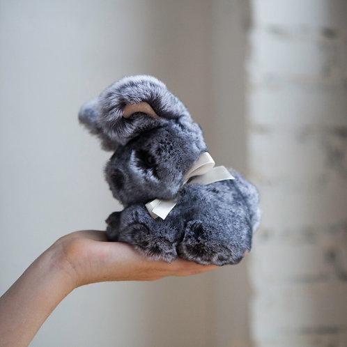 Кролик Тоша маленький (серый)
