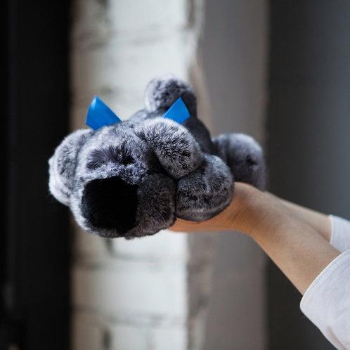 Собака Шанель маленькая (серая)