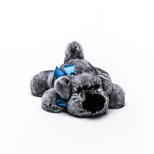 Собака Шанель средняя (серая)