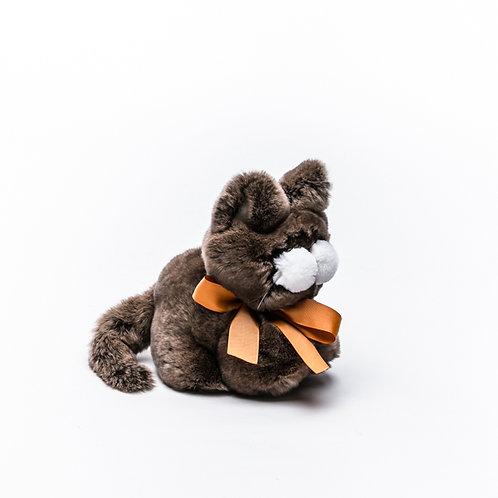 Котёнок Шустрик большой (коричневый)