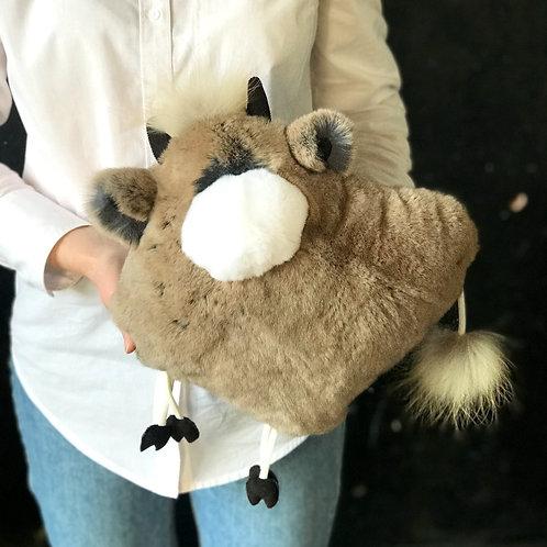 Подушка Бычок (коричневая)
