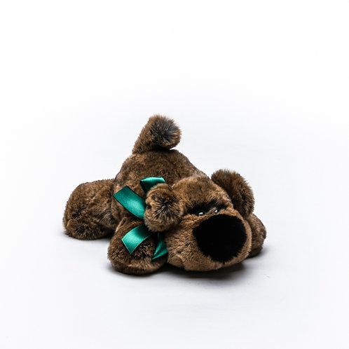 Собака Шанель средняя (коричневая)