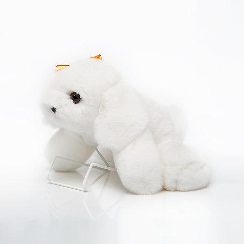 Собака Сонька (белая)