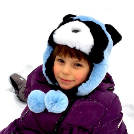 Коллекция зимних аксессуаров для детей от OnlyFur