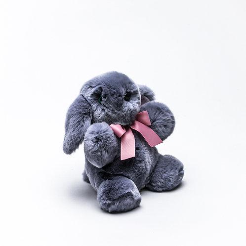 Зайчонок Арнольд (серый)