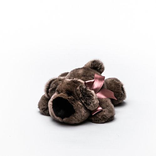 Собака Шанель маленькая (коричневая)