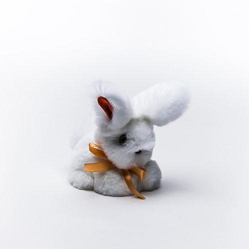 Кролик Тоша маленький (белый)