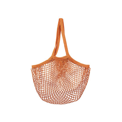 Burnt Orange String Shopper