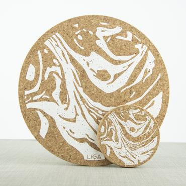 Cork Placemat Geo
