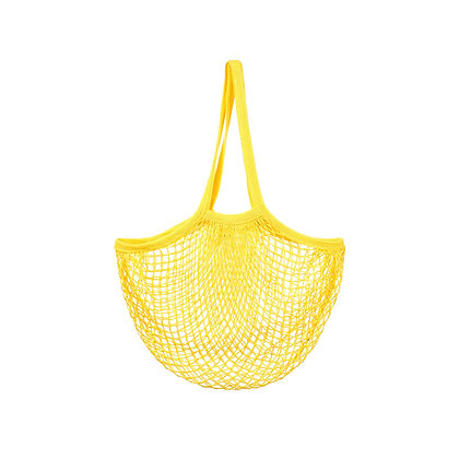 Yellow String Shopper