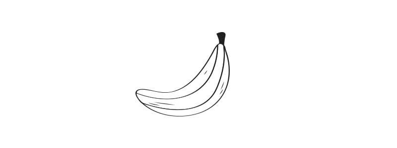Tratamiento para el pelo con banano y aceite de coco