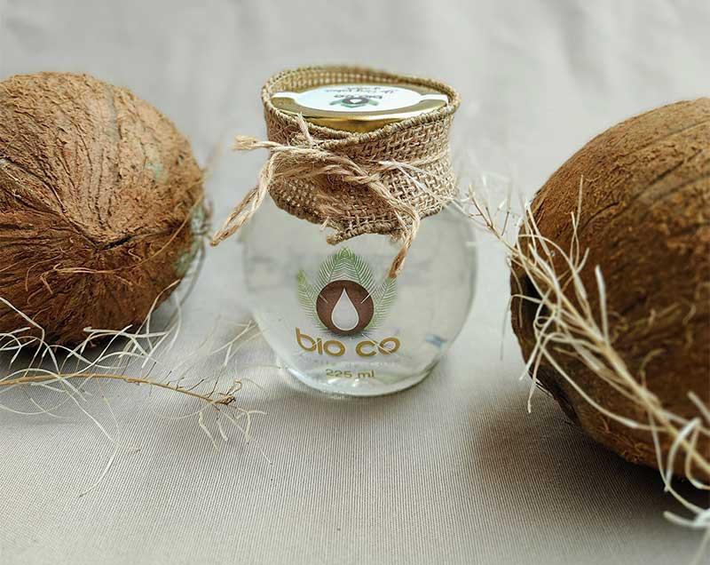 aceite de coco bioco y dos coco organicos