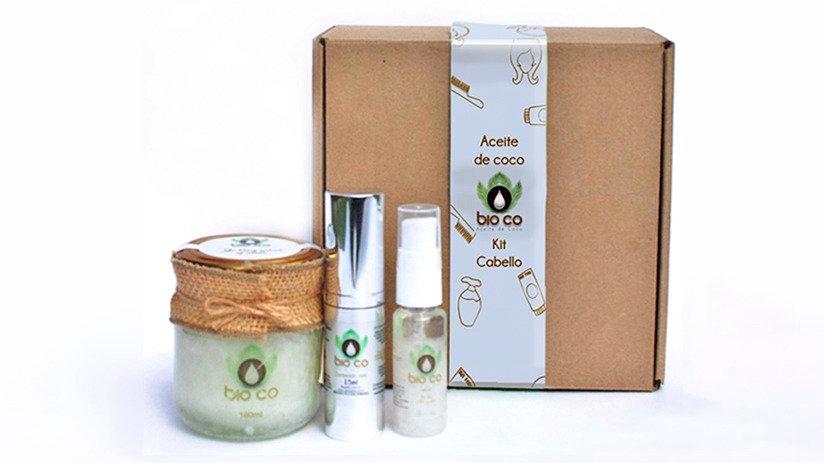 Kit aceite de coco cabello