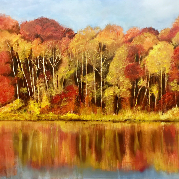 Riverside in Autumn