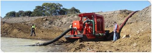 Large diameter flat hoses for emergency