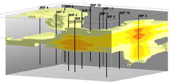 Integração dos dados geotécnicos em 3D.p