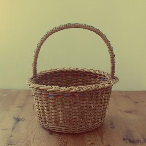 2 Wicker Flower baskets