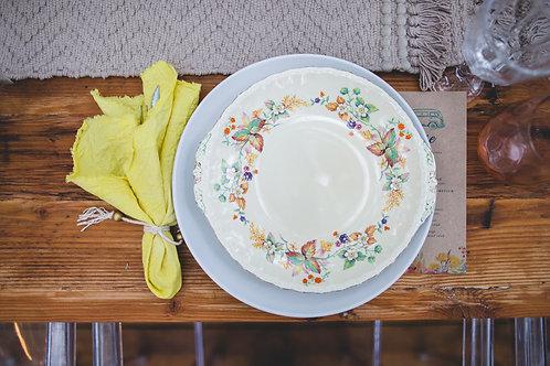 90 Colourful Vinatge side plates