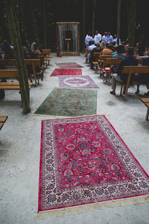 8 Various patterend carpets
