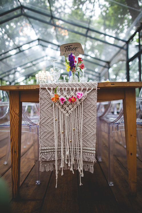 16 Small Macrame Hangings