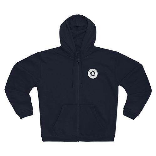 Hurricane Barricade Front - Hooded Zip Sweatshirt (Unisex)