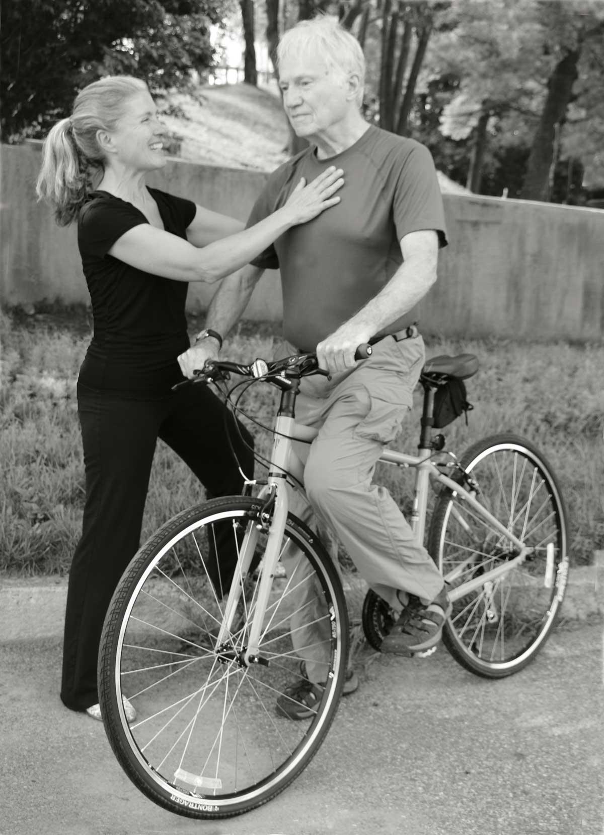 Karla Booth Diamond Bike Posture