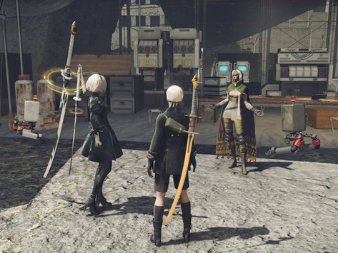 Nier: Automata Review – This Is The End