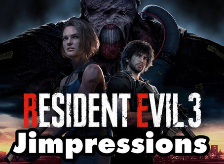 Resident Evil 3: Nemesis - Bloody Terrifying, Terrifyingly Bloody (Jimpressions)