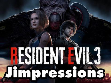 Resident Evil 3: Nemesis - Bloody Terrifying, Terrifyingly Bloody (Jimpressions)