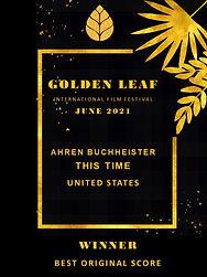 Golden Leaf This Time Best Original Scor