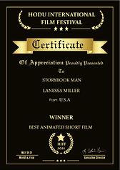 Hodu Storybook Man.Best Animated Short-p
