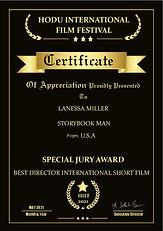Hodu Storybook Man Best Director Special