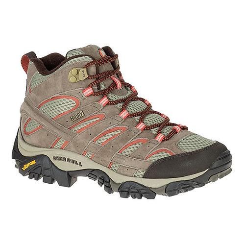 Merrell Women's Moab 2 Mid Waterproof Shoe