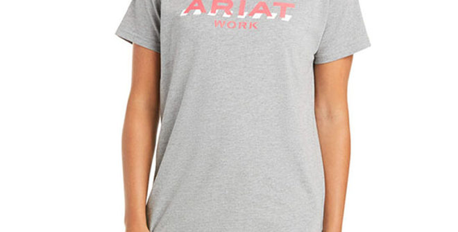 Ariat Women's Rebar Cotton Strong Logo T-Shirt