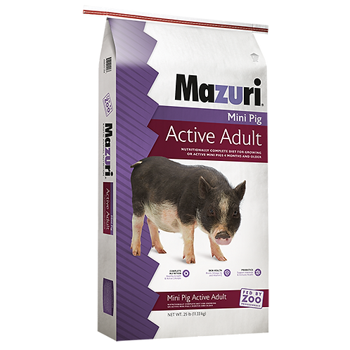 Mazuri Mini Pig Active Adult