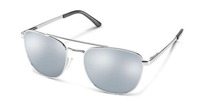 SunCloud Optics Silver Fairlane Sunglasses