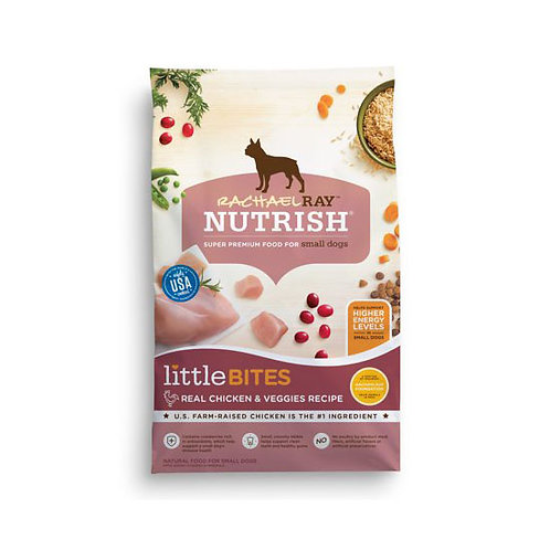 Rachael Ray Nutrish Little Bites Real Chicken and Veggies - 14 lb. bag