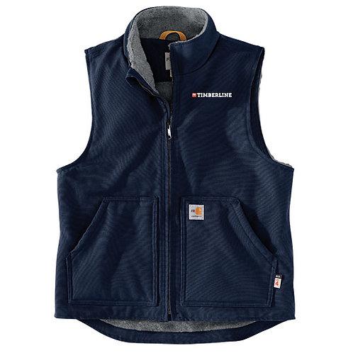 FBT Carhartt FR Duck Sherpa Lined Vest